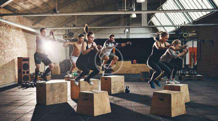 Parkour and free running style workouts